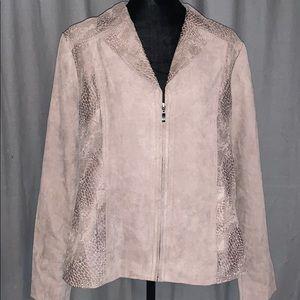 Studio works zip up jacket/blazer
